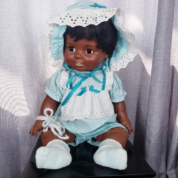 Vintage Ideal toy 1972 African American Doll